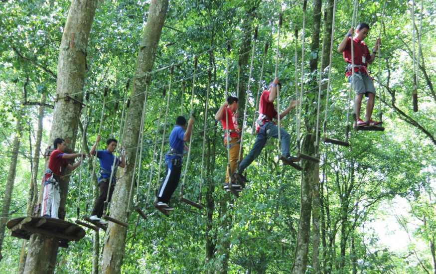 Treetop Adventure Bali Activities Fun Things To Do In Bali