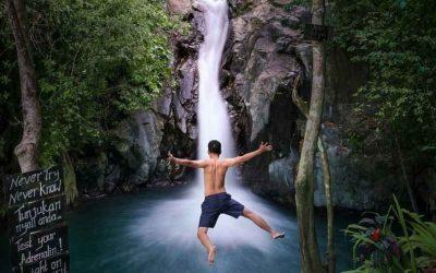 Jumping Water Sliding