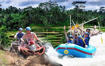 Quad Bike River Rafting