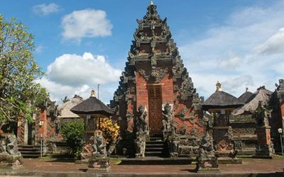 Batuan Village Temple