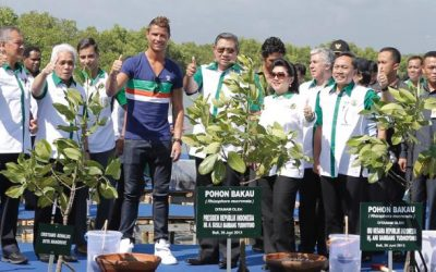 'Save Mangrove, Save Earth' campaign with Christiano Ronaldo