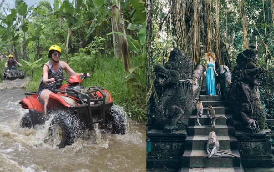 Quad Biking and Ubud Tour